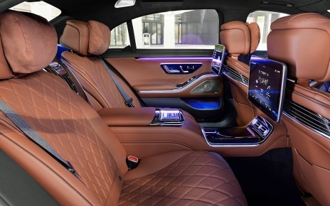 2021 Mercedes-Benz S-Class - Interior
