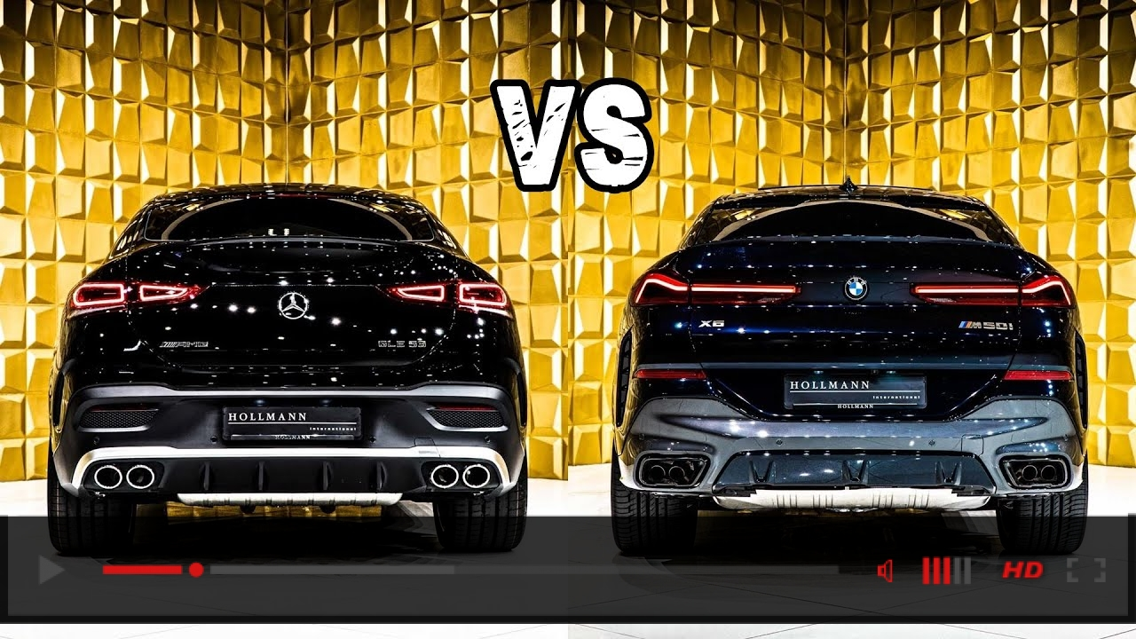 2021 Mercedes GLE Coupe vs 2020 BMW X6