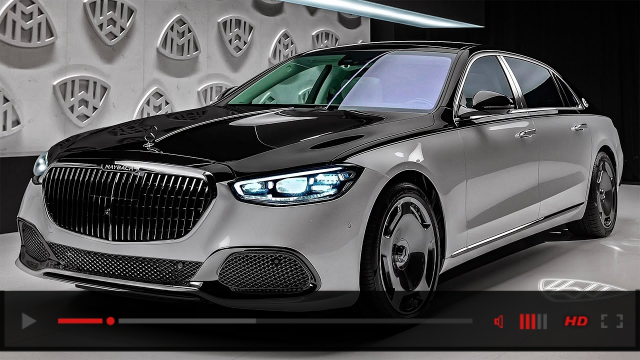 2021 Mercedes-Maybach S 680 - New Excellent Luxury Sedan in detail