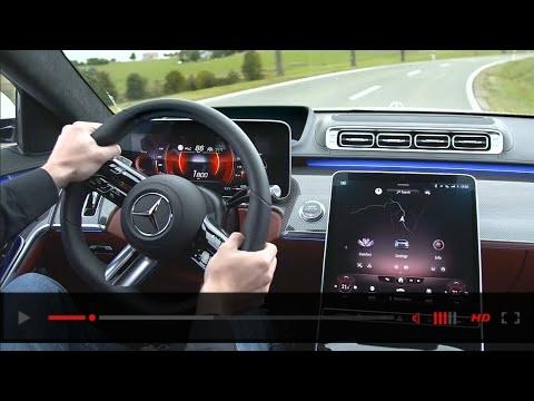 2021 Mercedes S Class highway assist systems 360°Camera/Digital Light