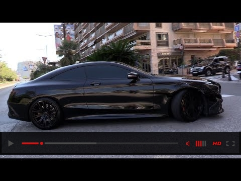 BEST OF MERCEDES-AMG SOUNDS! CLS63, E55, S63, BRABUS 850..