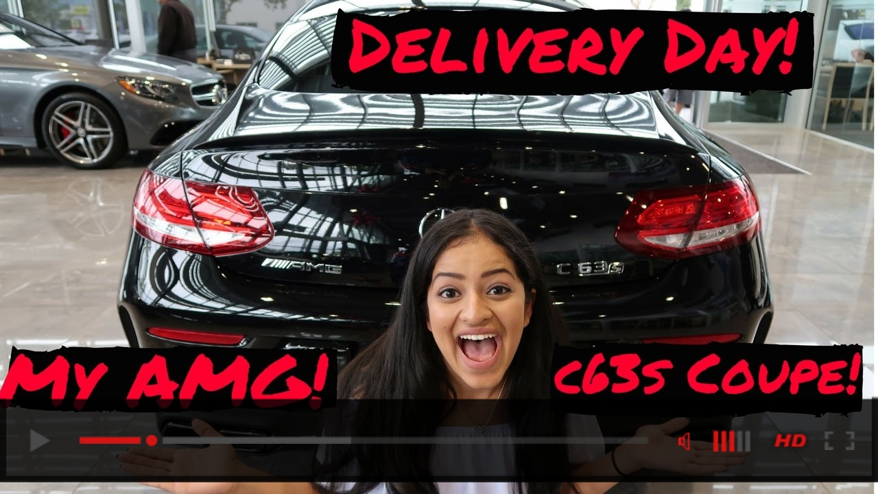 Delivery of my Mercedes AMG C63s Coupe
