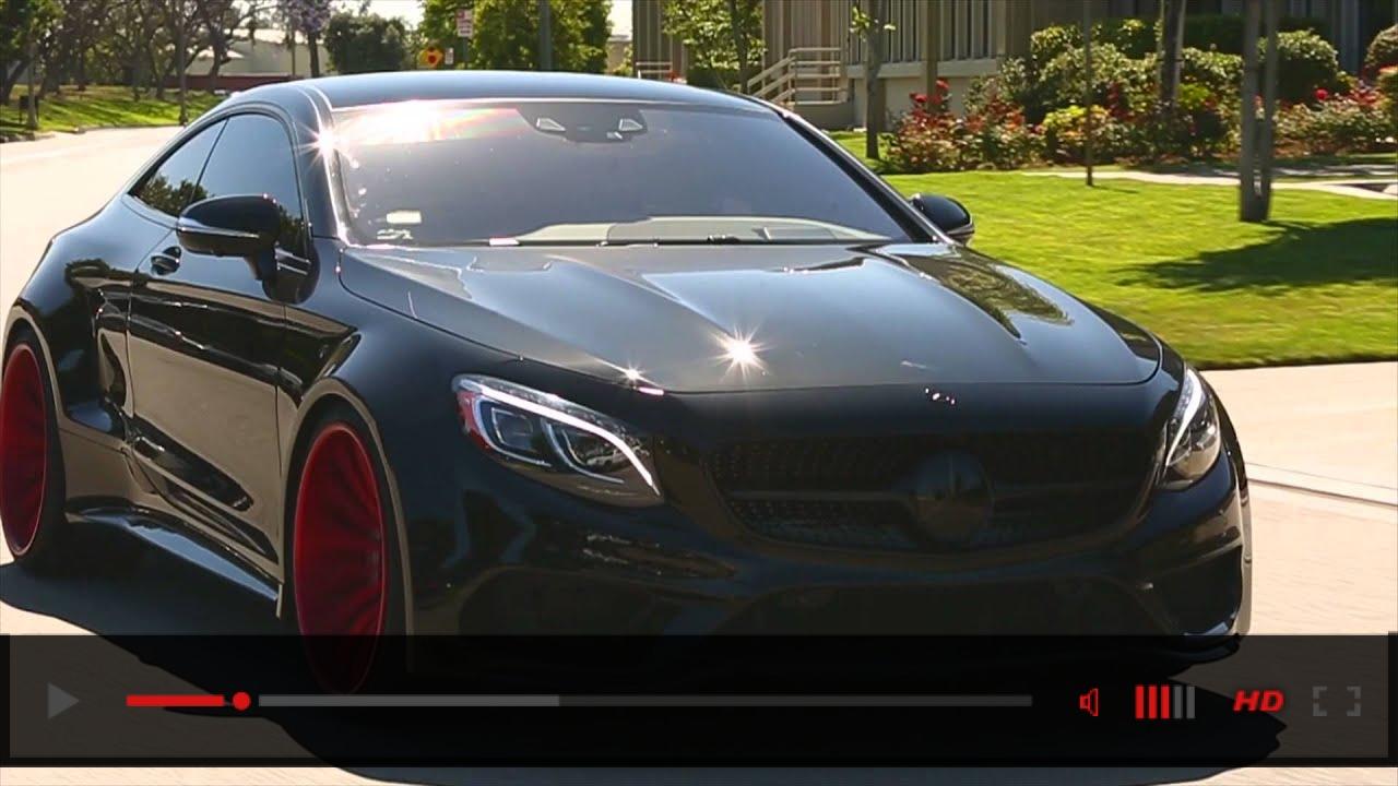 Forgiato Wheels on Mercedes-Benz S Coupe Widebody