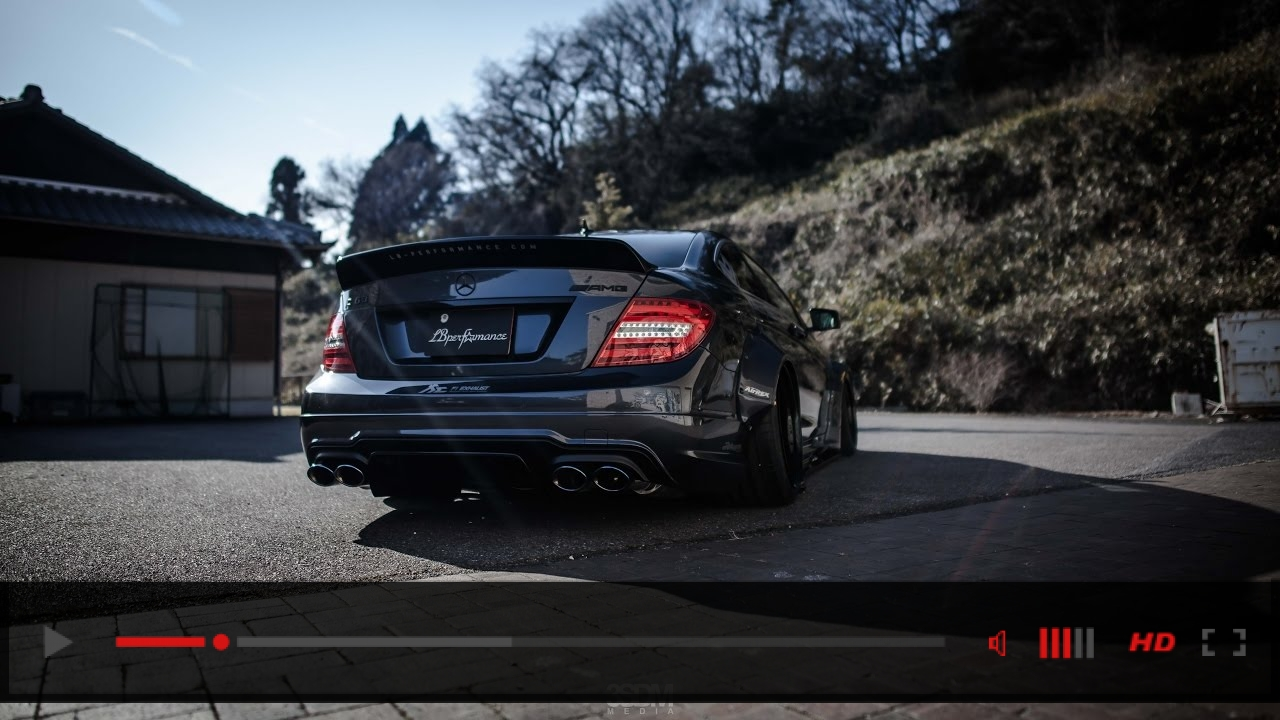 Liberty Walk Mercedes C63 AMG | 3SDM Alloy Wheels