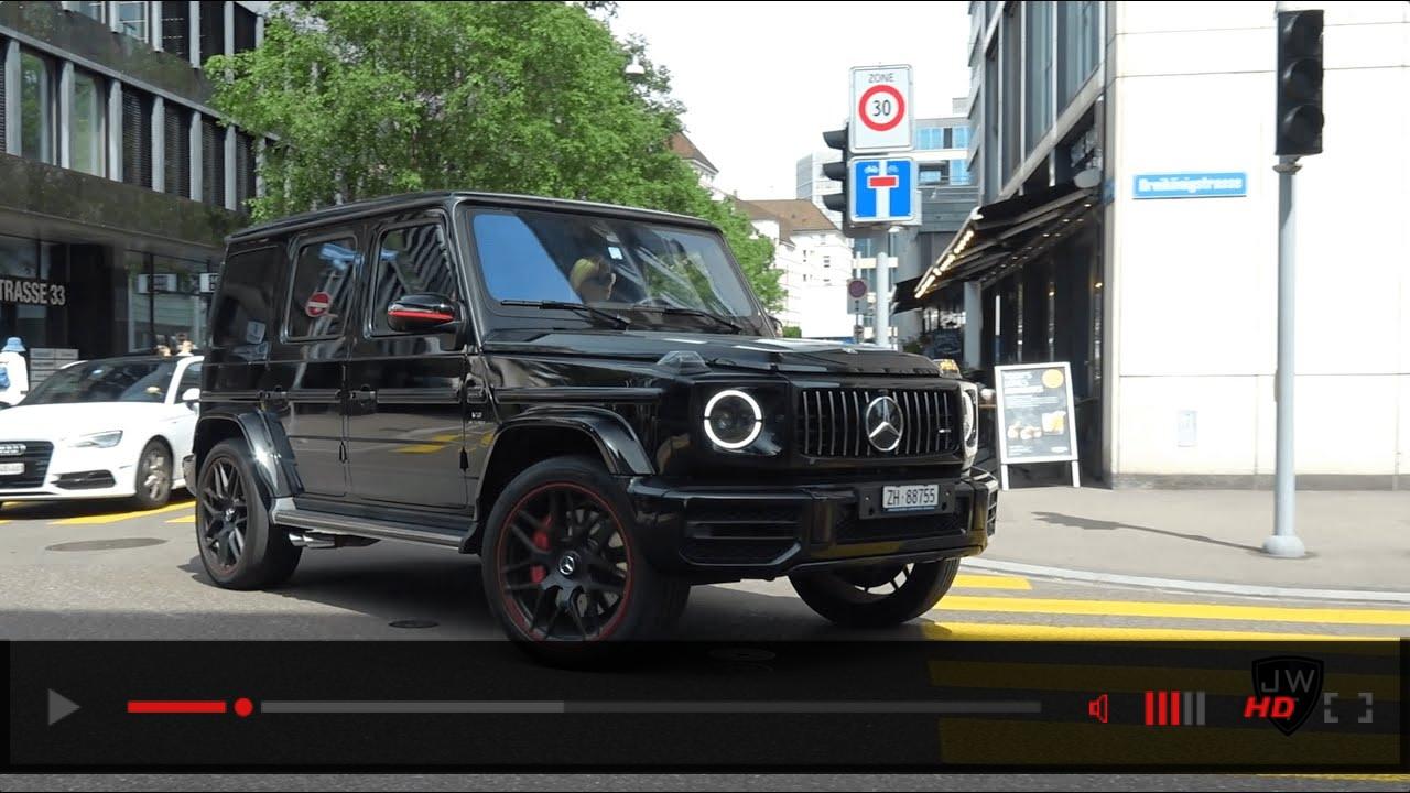 Mercedes-AMG G63 AMG INVASION in Zurich!? Exhaust Sounds!