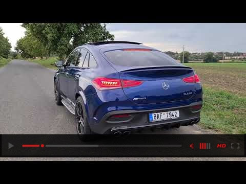 Mercedes-AMG GLE coupé 53 4Matic+ (2020): engine & exhaust sound