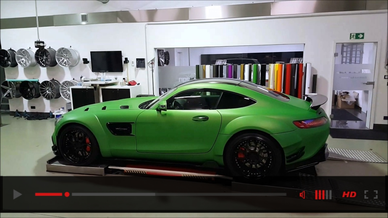 Mercedes AMG GT-S HULK-Edition (Prior-Design PD800GT Widebody)
