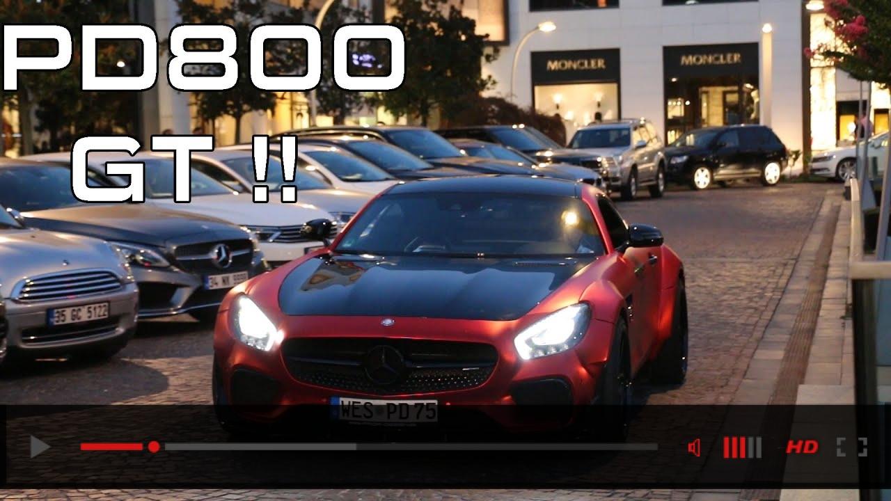 Mercedes AMG GT-S Prior-Design PD800 GT - İstanbul | Furkan Kaya