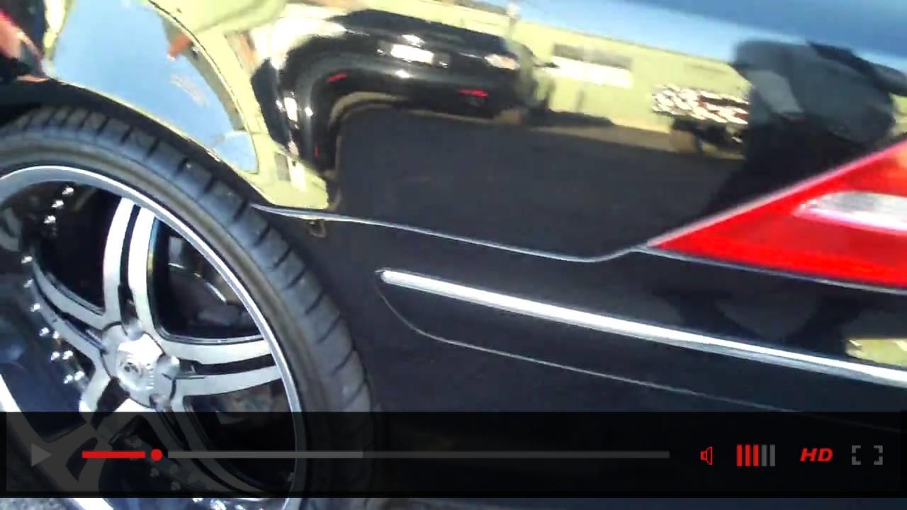 """Mercedes Benz CL500 on 22"""" lexani rims"""