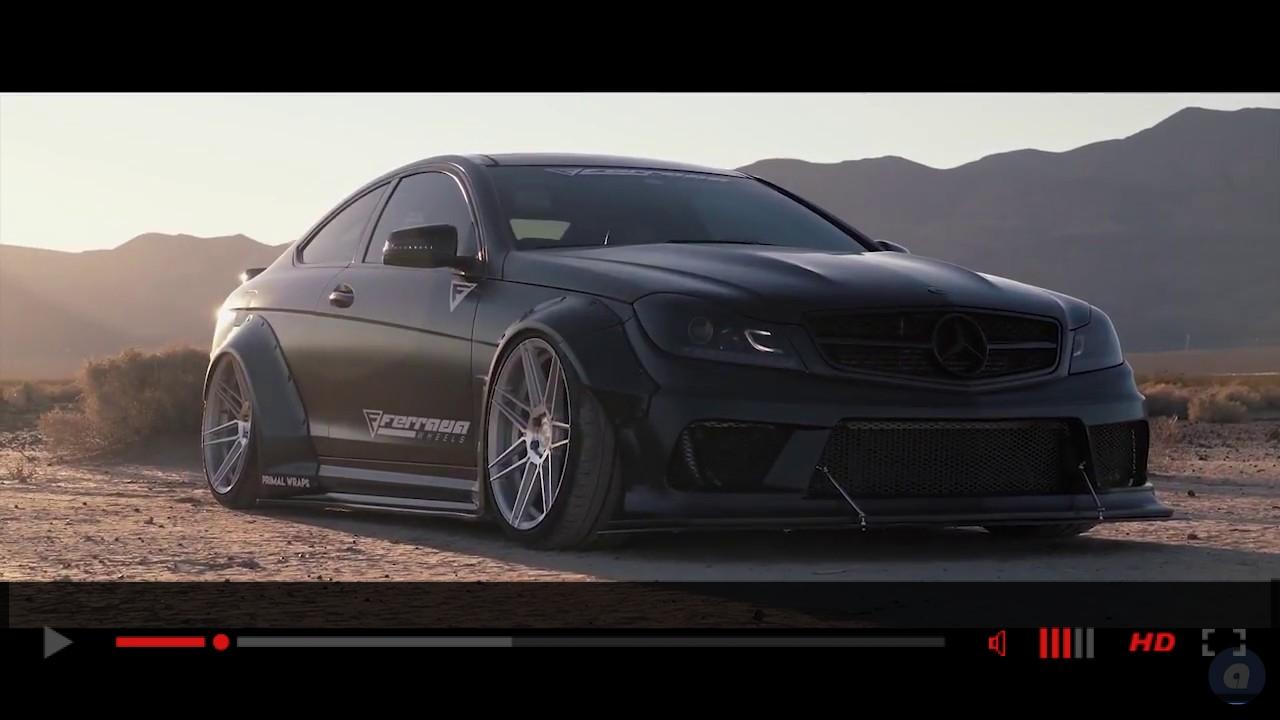 Mercedes C63 Liberty Walk Desert Demon Ferrada Wheels F8FR6
