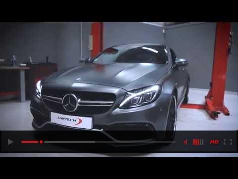Mercedes C63S AMG SHIFTECH 589HP Akrapovic Titanium Exhaust System