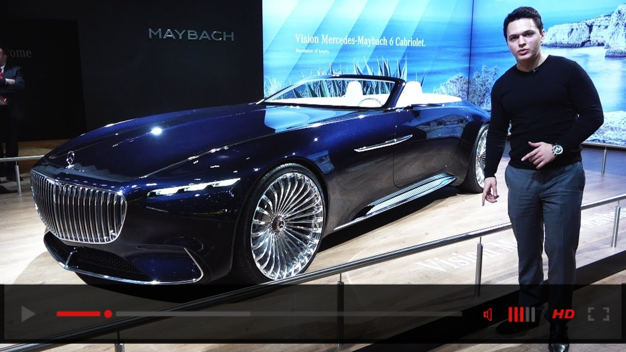 Mercedes Maybach 6 Cabriolet - NEW Full Review LUXURY Design Interior Exterior
