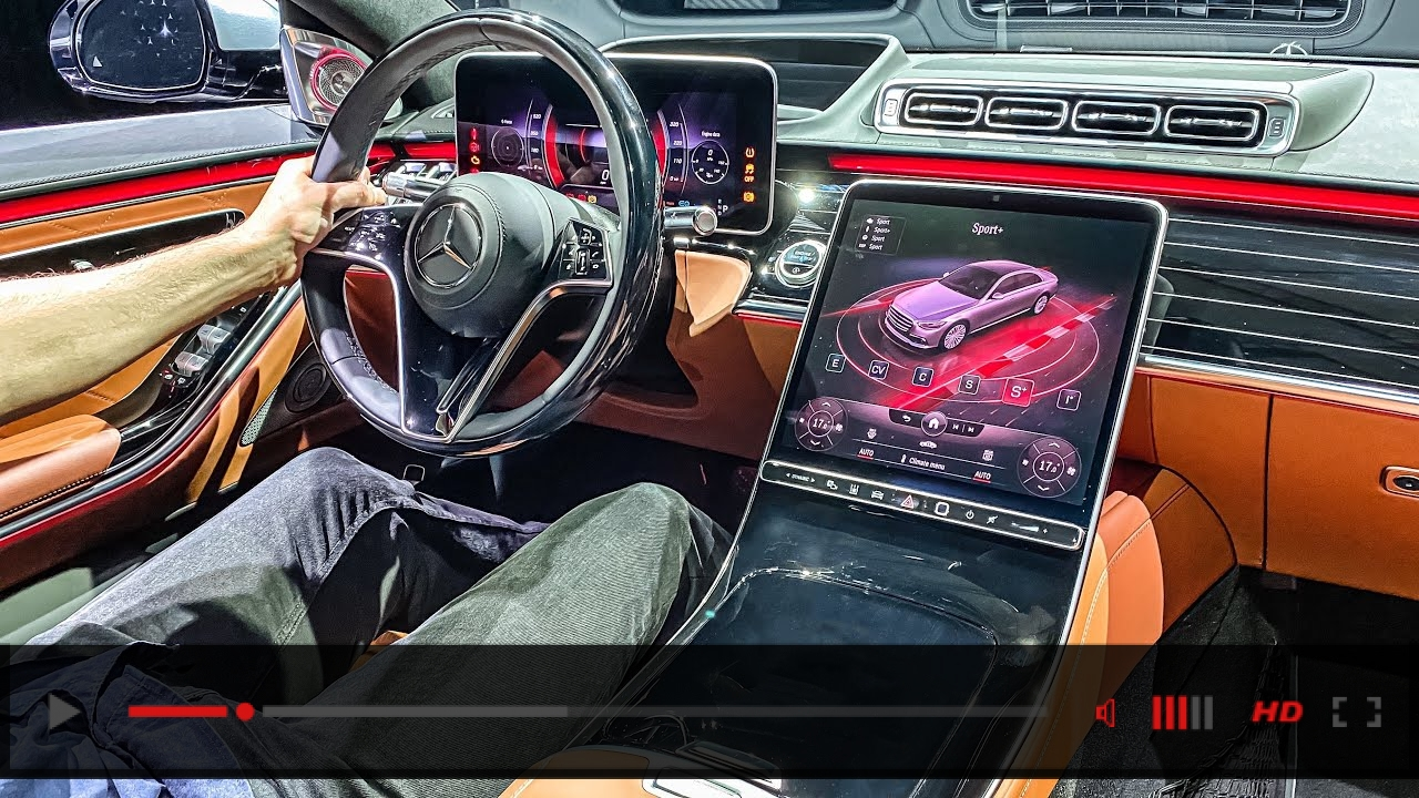 NEW 2021 S-CLASS FULL INTERIOR LOOK! Mercedes Benz S500 Walkaround