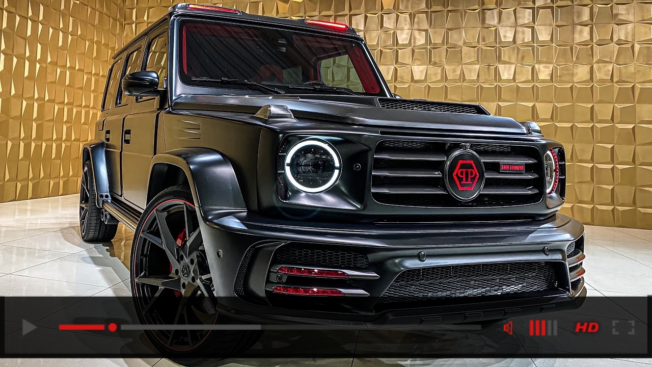 One of the LOUDEST G-WAGON! The Mansory Star Trooper 1 OF 20!