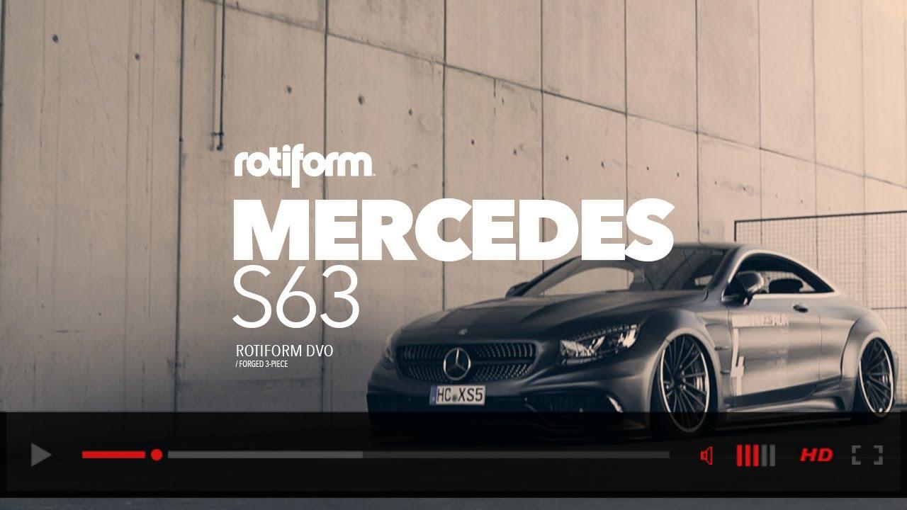 Rotiform DVO | Widebody Mercedes S63