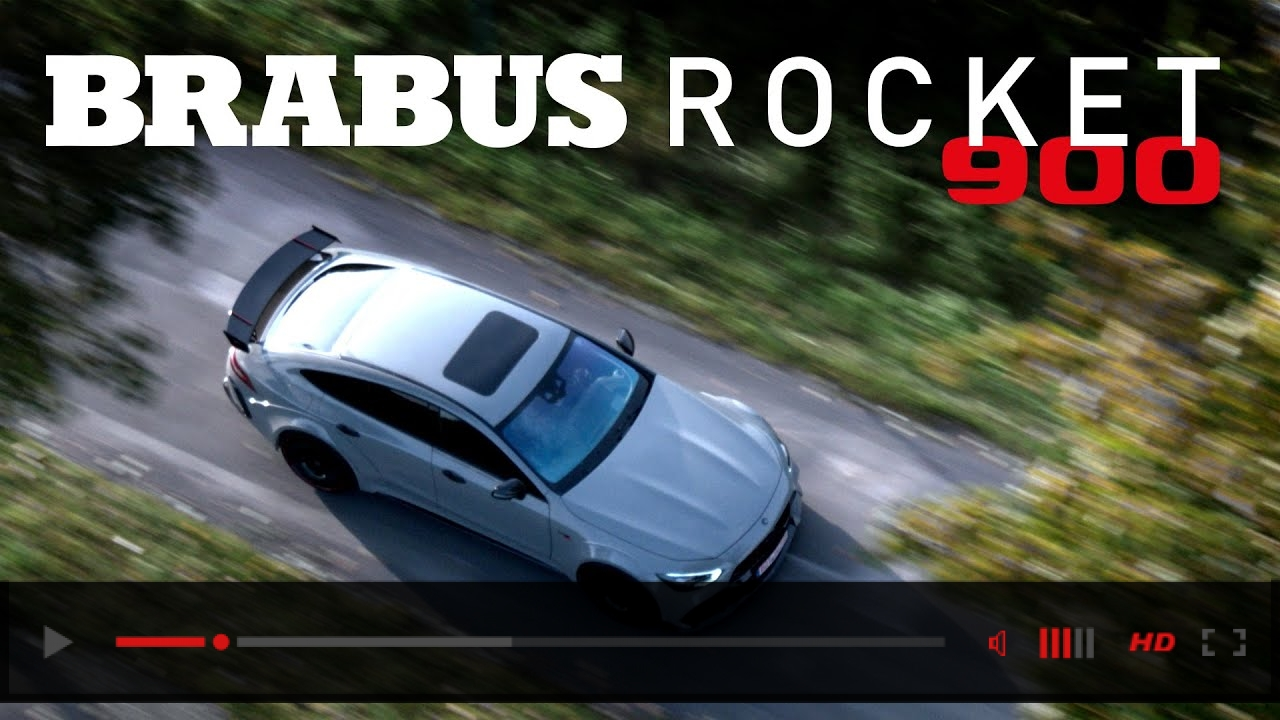 "THE BRABUS ROCKET 900 ""ONE OF TEN"""