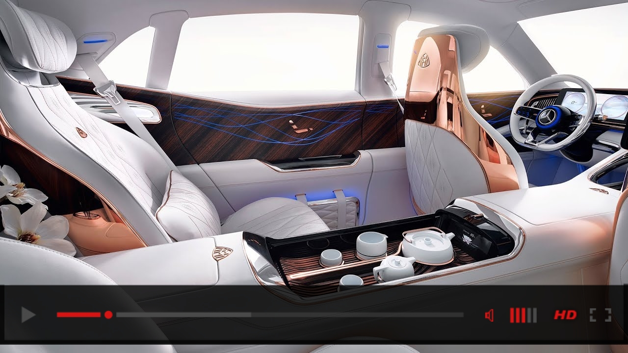 Vision Mercedes-Maybach Ultimate Luxury - Interior