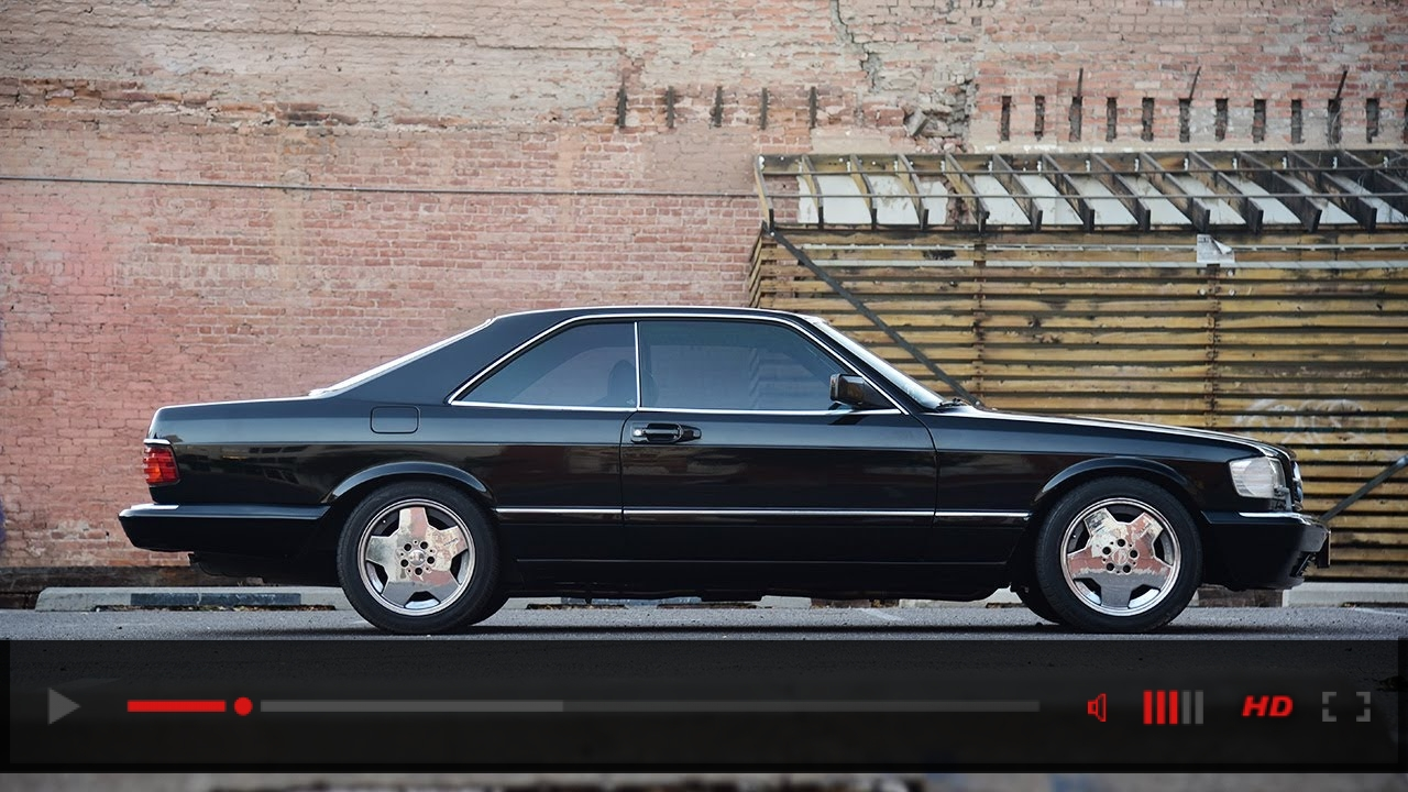 Why the Mercedes 560 SEC is one of the coolest coupes from the 1980s