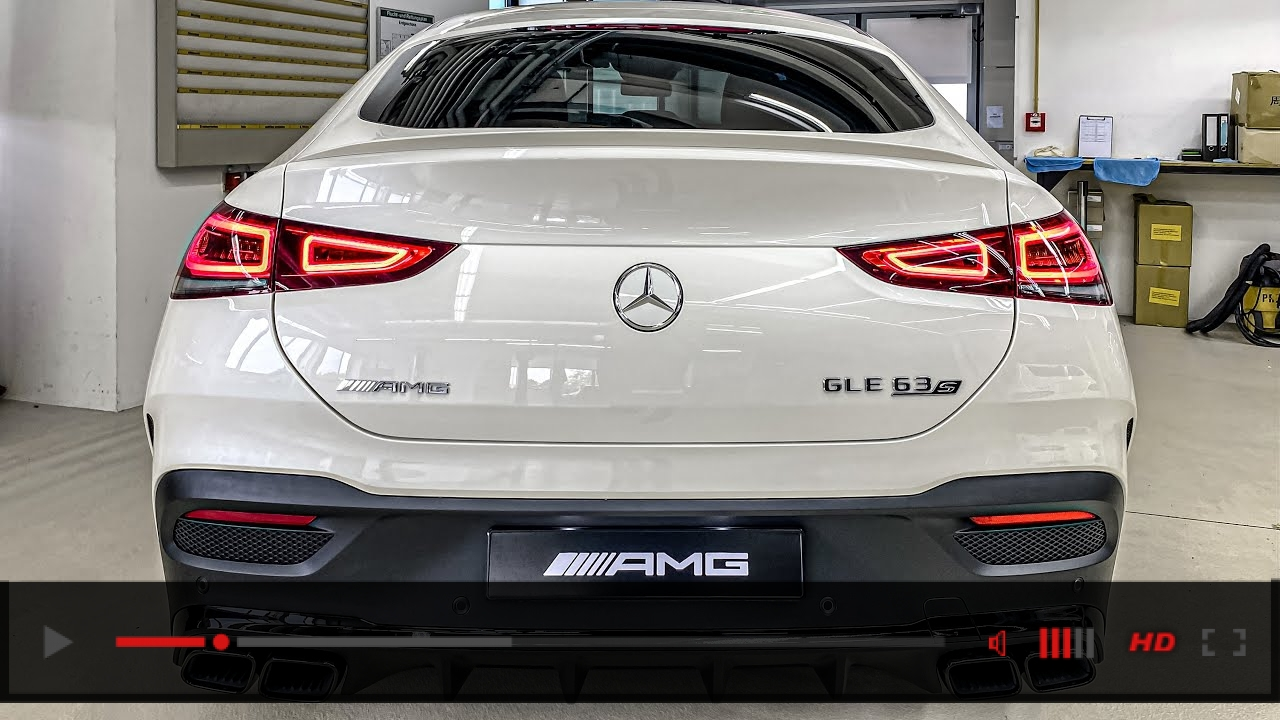 2021 GLE63s COUPE! Interior/Exterior +SOUND! New Mercedes AMG GLE63s Coupe!