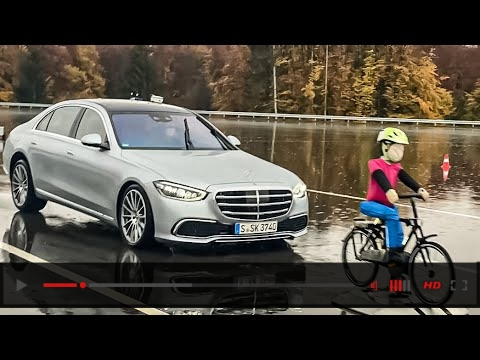 2021 S-CLASS Intelligent CRASH SAFETY Features & Assistance Systems