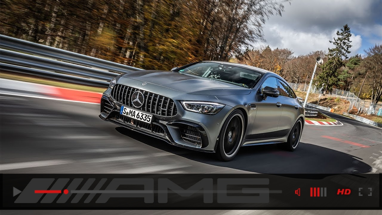Record Lap – Mercedes-AMG GT 63 S 4MATIC+ on the Nürburgring Nordschleife