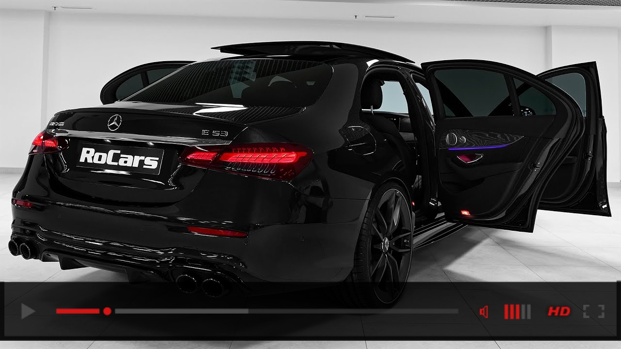 2021 Mercedes-AMG E 53 - Sound, Interior and Exterior in detail