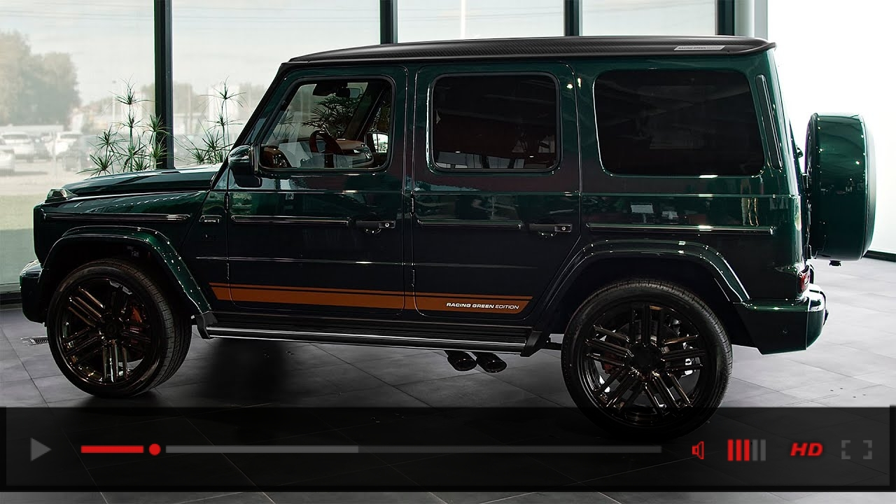 2021 Mercedes AMG G 63 Racing Green Edition - Production, Interior and Exterior in details