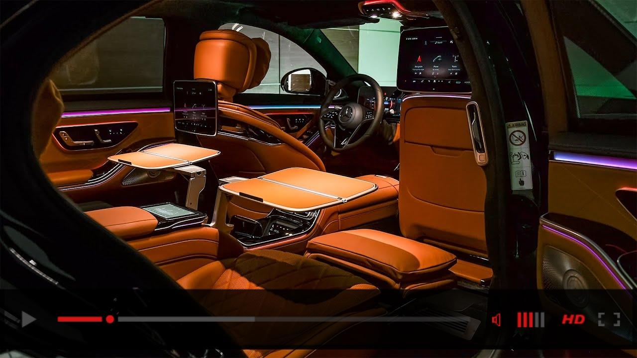 2021 Mercedes S Class L - Excellent Luxury Sedan in detail
