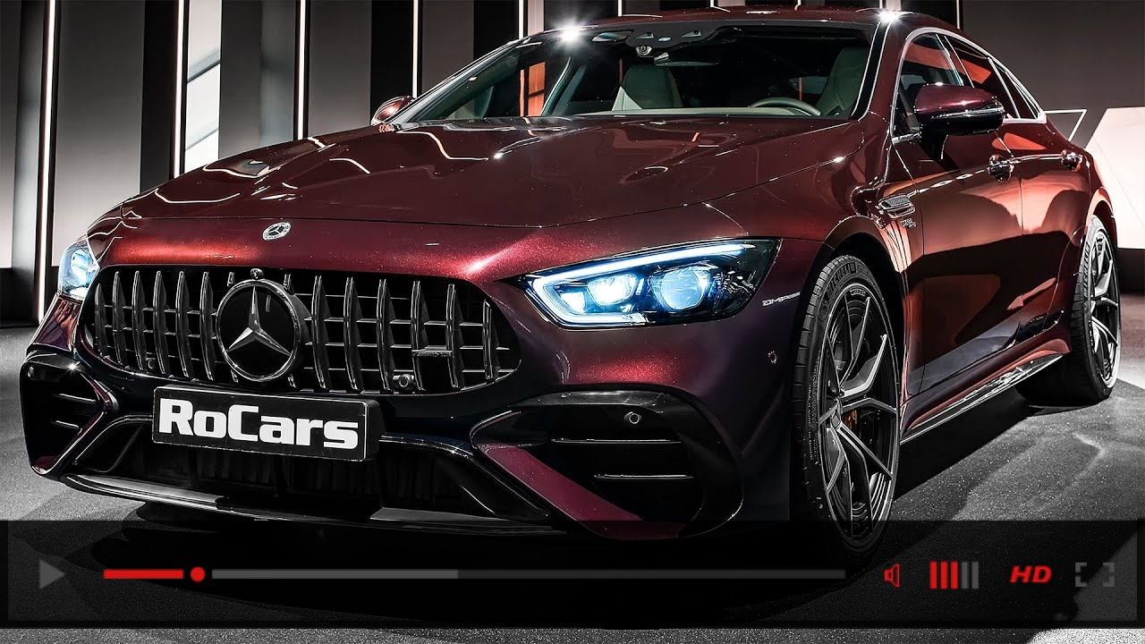 2022 Mercedes-AMG GT 53 Facelift - Interior and Exterior Details