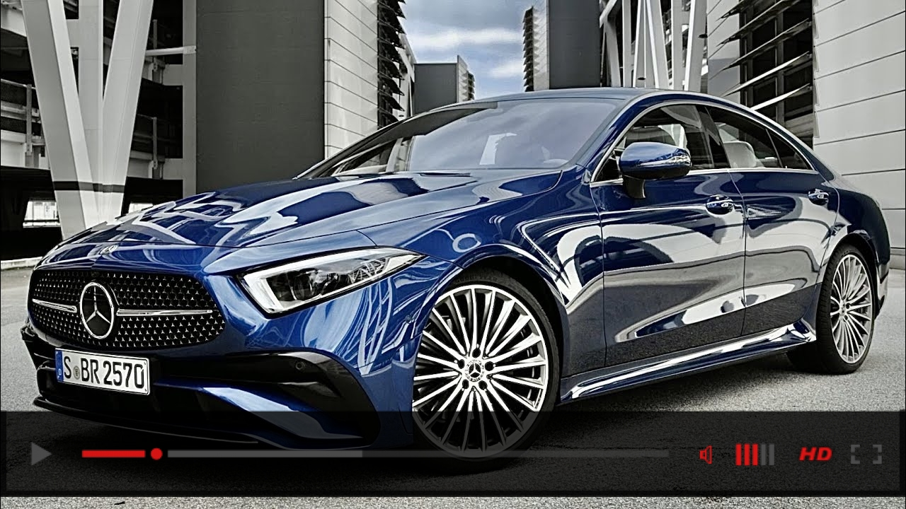 2022 Mercedes Benz CLS Class - Luxury Sport Sedan