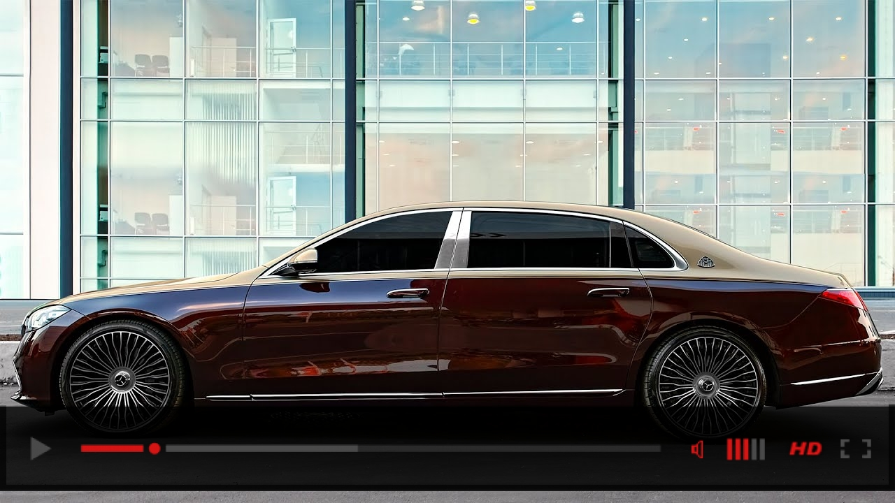2022 Mercedes MAYBACH S V12 in Beautiful Details