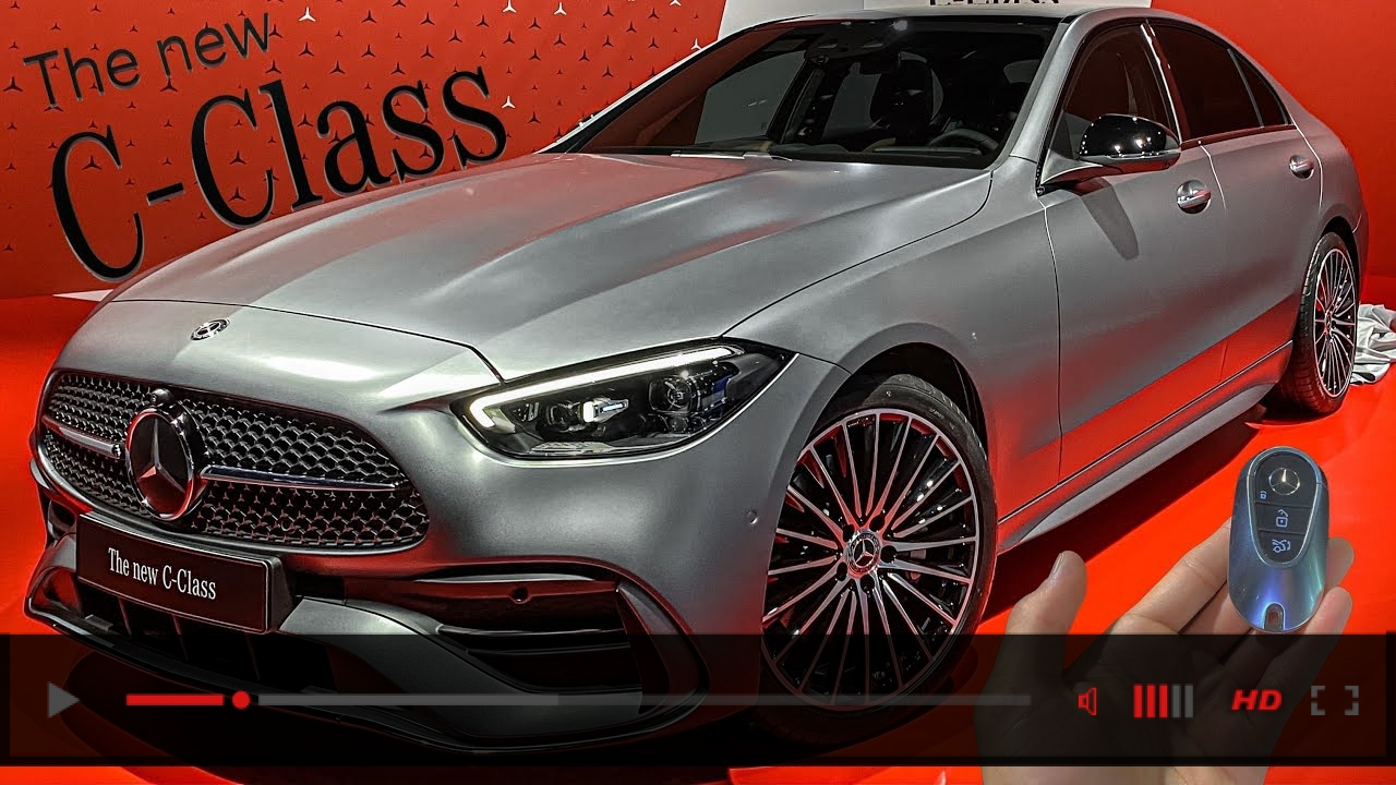 ALL NEW 2022 Mercedes Benz C-Class! First Full View W206 C-Class AMG Line