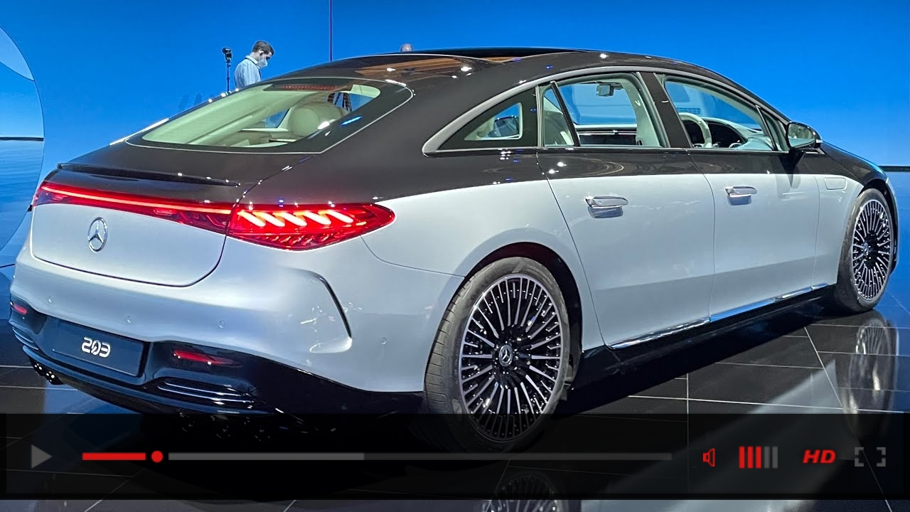 ALL NEW 2022 Mercedes Benz EQS! First Full View Exterior EQS AMG Line!