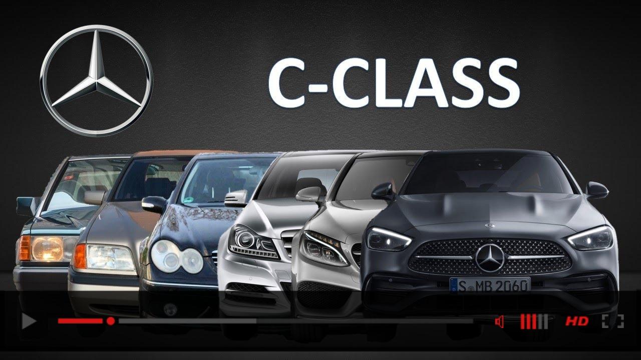 Mercedes-Benz C-Class Evolution | W201 to W206 | 1982 to 2021