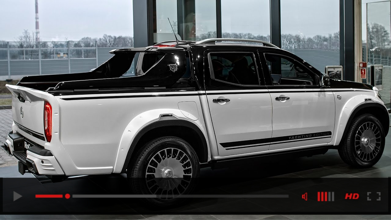 Mercedes X Class YACHTING Edition - Maybach Pickup from Carlex Design