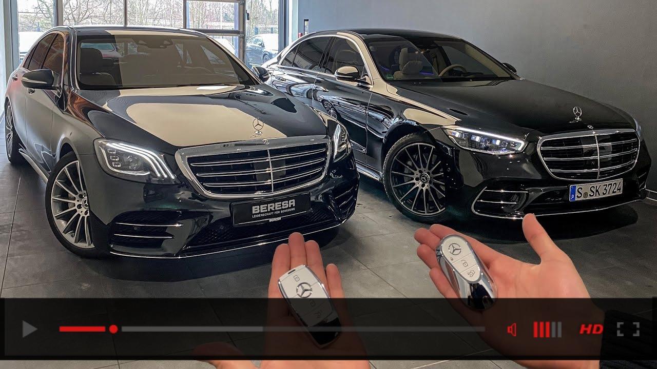OLD VS NEW S-CLASS! W222 & W223 S-Class Interior Exterior Drive Comparison