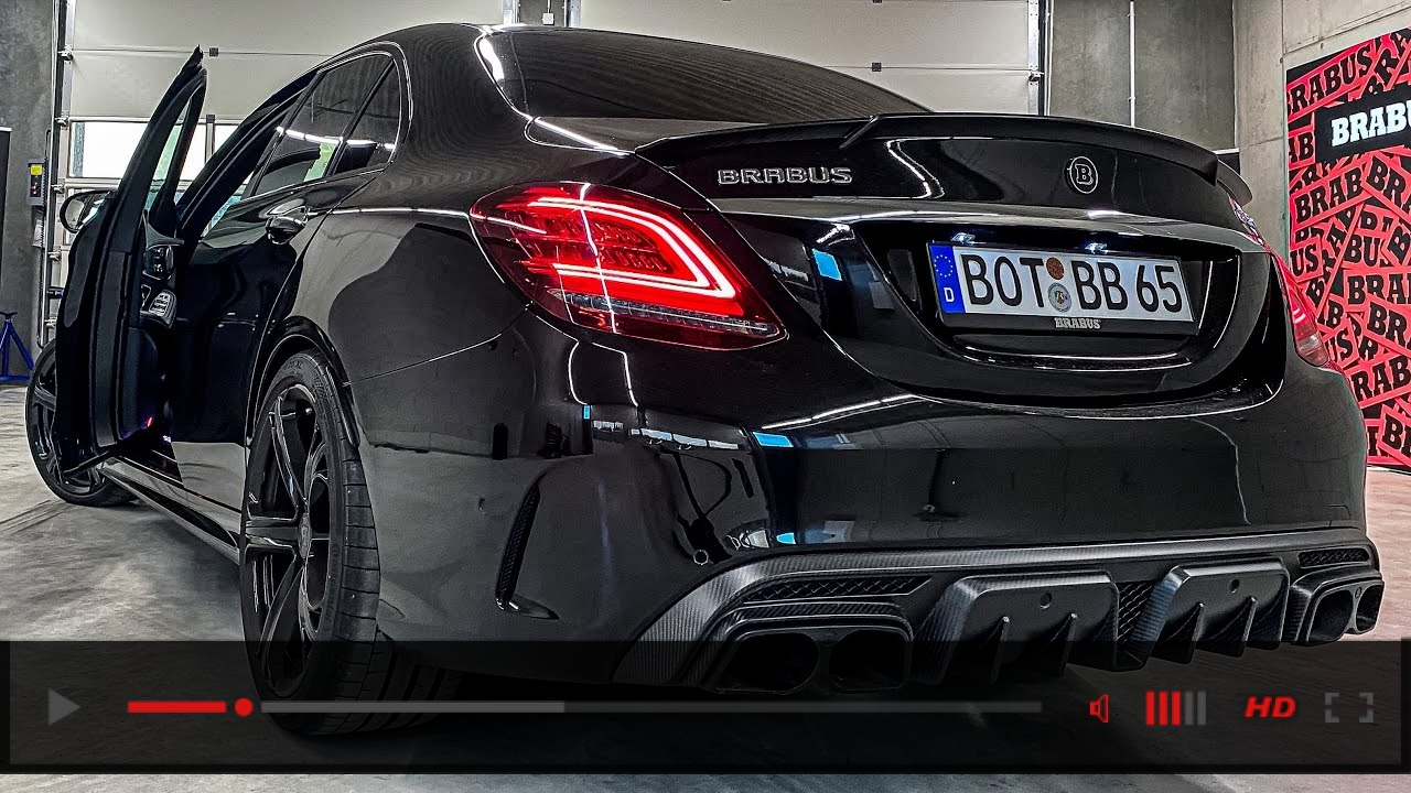 THE BRABUS 650! Ultimate C-CLASS with 650 HP! + SOUNDCHECK!