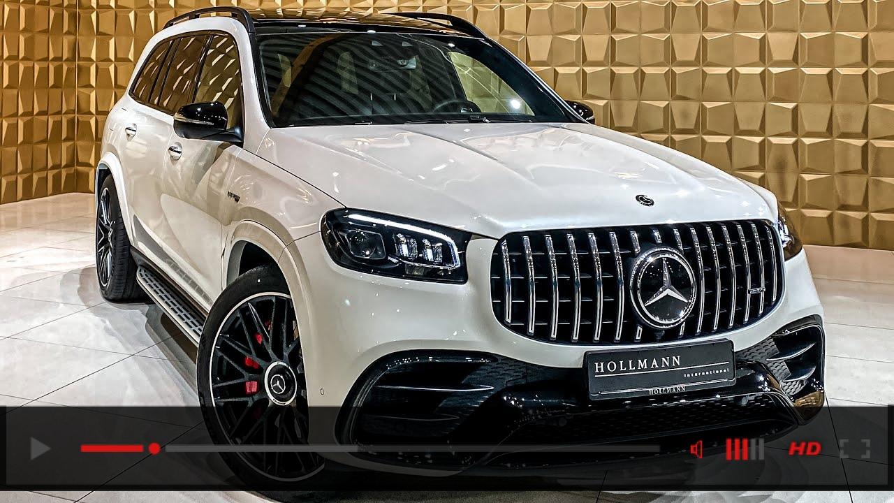 The KING OF SUVs! 2021 GLS63 AMG! Full Walkaround + SOUNDCHECK! Interior Exterior