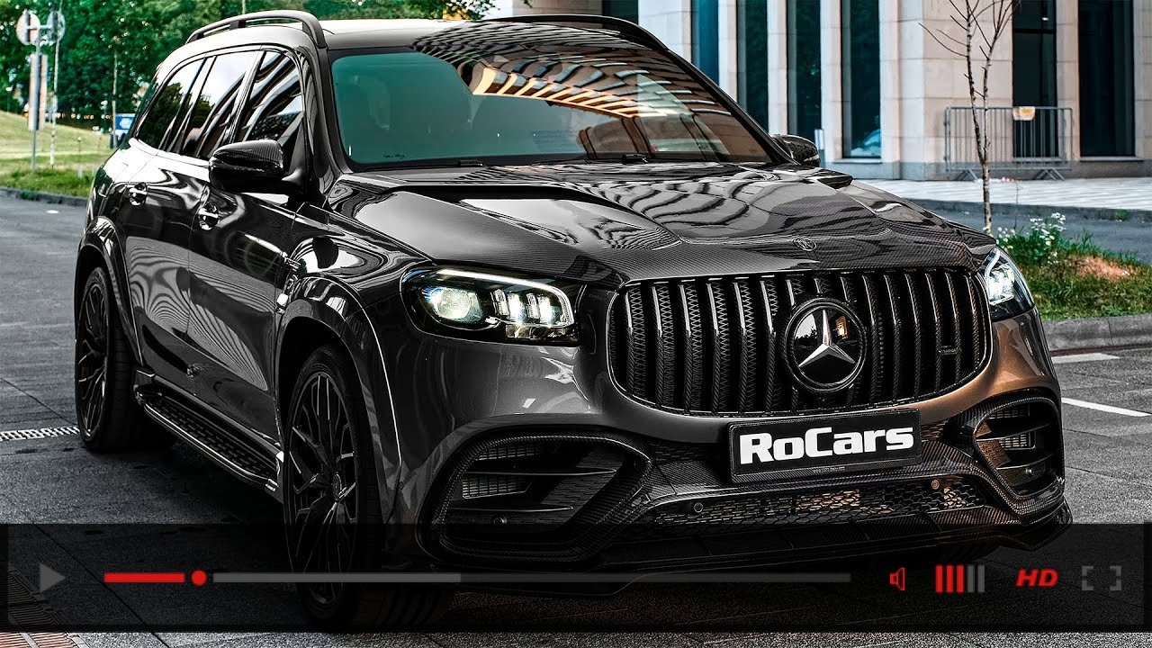 2021 Mercedes-AMG GLS 63 from Larte Design - Sound, Interior and Exterior in detail