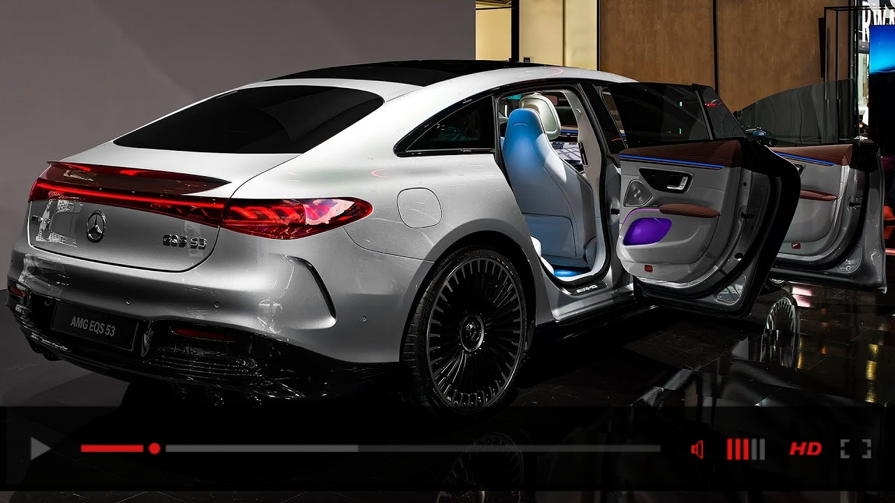 2022 Mercedes AMG EQS 53 - Interior and Exterior in detail