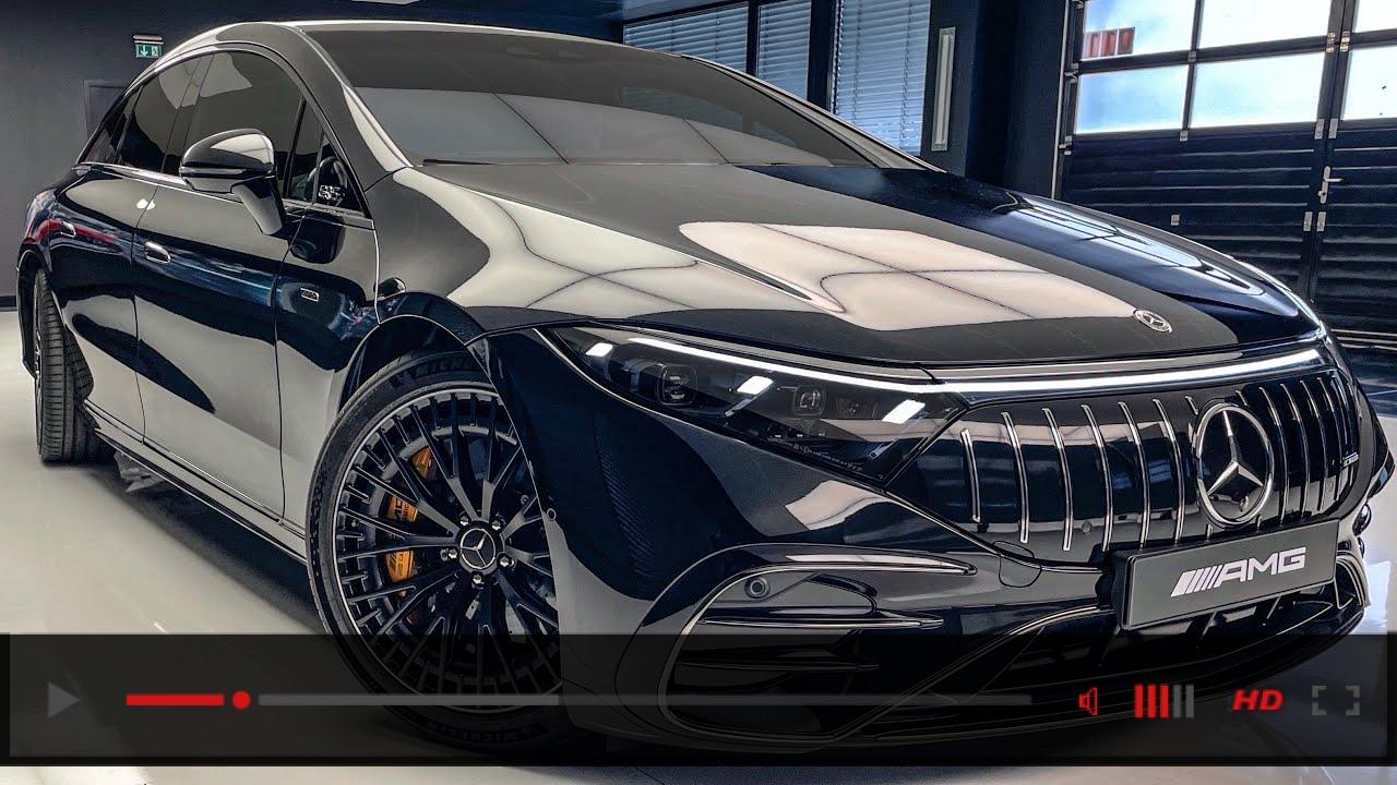 2022 Mercedes AMG EQS53! FULL Electric AMG Interior Exterior Walkaround
