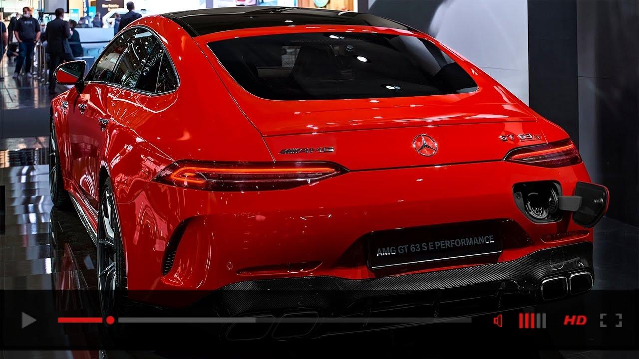 2022 Mercedes-AMG GT 63 S E PERFORMANCE - Interior and Exterior Details
