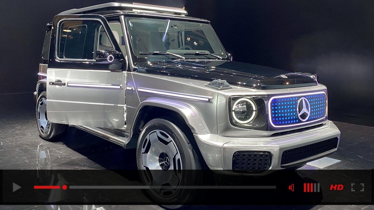 2023 FULL ELECTRIC G-CLASS! NEW Mercedes EQG Concept!