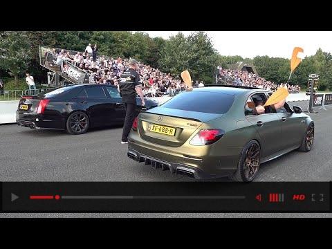 BRABUS Mercedes-AMG E63 S 4Matic+ vs Cadillac CTS-V