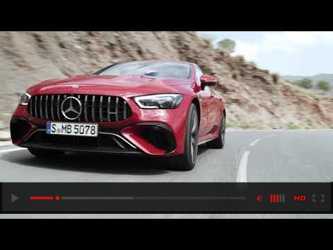 Mercedes-AMG GT 63 S E Performance driving