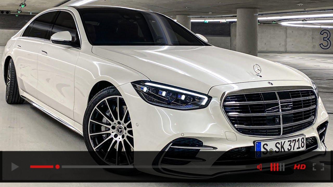 NEW 2021 Mercedes Benz S-Class Walkaround! My Next Car? 2021 S500 Review Interior Ambiente Exterior